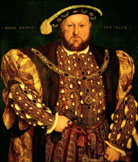 Code: 0123485 - Artist: Holbein, Hans the Younger (1497-1543) - Title: Portrait of Henry VIII