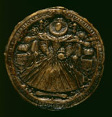 Code: H360632 - Artist: ******** - Title: Second great seal of Elizabeth I (reverse), c1586-c1603.