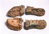 Etruscan art Wood shoes, from Bisenzio Olmo Bello Tomb XVIII