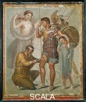 Roman art Aeneas wounded and treated
