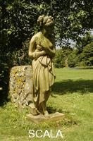 ******** Terracotta statue of Venus in the garden at Monks House, East Sussex.Monk's House, terracotta statue of Venus in the garden