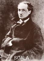 Nadar (Felix Tournachon, called, 1820-1910) Charles Baudelaire. Charles Baudelaire (1821-67), French poet. 1855