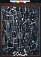 Louis, Morris (1912-1962) Charred Journal: Firewritten V, 1951