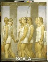 Keil, Gerhard (b. 1912) Gymnasts (or The Spartan Athlets), 1939