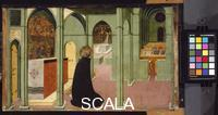 Sassetta (1392-c. 1450) Saint Thomas Aquinas at Prayer, 1423 - 1426
