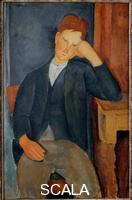 Modigliani, Amedeo (1884-1920) Young worker, 1918-19