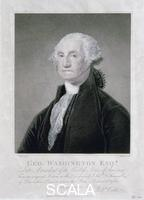 Nutter, William (1754-1802) Portrait of George Washington, 1798. After commanding the American Revolutionary army to victory over the British in the American War of Independence, Washington (1732-1799) served as the first President of the newly independent United States from 1789-1797.