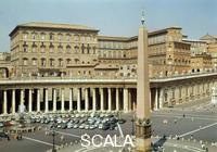 ******** Pontifical palace from St. Peter's Square