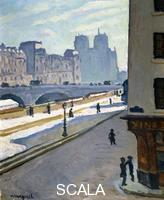 ******** Notre Dame, 1904. Artist: Albert Marquet Notre Dame, 1904. Found in in the collection of the Musee des Beaux-Arts, Pau, France. ARTISTS COPYRIGHT MUST ALSO BE CLEARED.