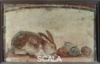 Roman art Still Life with Rabbit