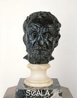 Rodin, Auguste (1840-1917) Mask of the Man with the Broken Nose, conceived 1863-64; cast 1925