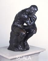 Rodin, Auguste (1840-1917) The Thinker, conceived 1880 (enlarged 1902-4); cast 1925
