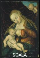 Cranach, Lucas the Elder (1472-1553) Virgin suckling Christ Child (Maria lactans)