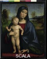 Francia (Raibolini, Francesco called c. 1450-1517) Madonna and Child, 1517