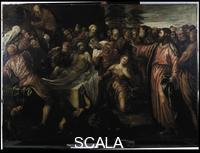 Tintoretto (Robusti, Jacopo 1518-1594) Resurrection of Lazarus, undated
