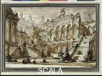 Piranesi, Giovan Battista (1720-1778) Architectural Fantasy, undated