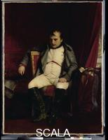 Delaroche, Paul (1797-1856) Napoleon I at Fontainebleau on March 31, 1814 after the news about the entry of the allied troops into Paris had reached him, 1845