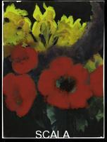 Nolde, Emil (1867-1956) Poppies and Irises, c. 1930