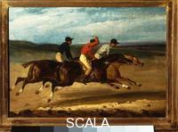Gericault, Theodore (1791-1824) Horse Race with Riders