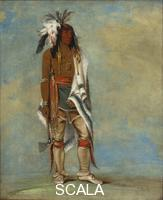 Catlin, George (1796-1872) Not-to-way, a chief, 1835-36 (Iroquois)