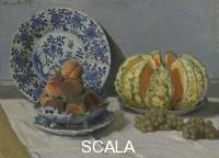 Monet, Claude (1840-1926) Still Life with Melon, c. 1872