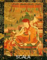 Tibetan art Painting with patriarch