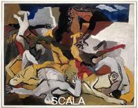 Guttuso, Renato (1912-1987) The Massacre, 1943