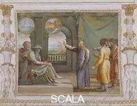 Raphael (1483-1520), school Scenes from the Story of Joseph: His Interpretation of the Pharaoh's Dreams