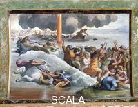 Raphael (1483-1520), school Scenes from the Story of Moses: the Crossing of the Red Sea