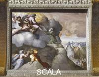 Raphael (1483-1520), school Scenes from the Story of Moses: the Receiving of the Tables of the Law