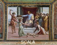 Raphael (1483-1520), school Scenes from the Story of Solomon: the Judgment