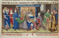******** Scenes from the Lives of the Emperors: Coronation of Charlemagne
