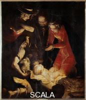 Cambiaso, Luca (1527-1585) Nativity