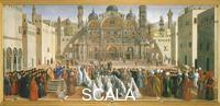 Bellini Gentile (1429-1507) and Bellini, Giovanni (1430-1516) Preaching of Saint Mark in Egypt