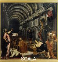 Tintoretto (Robusti, Jacopo 1518-1594) Miracle of Saint Mark (Finding of the Saint's Corpse)