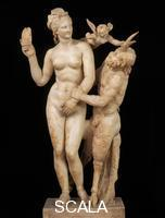 Greek art Aphrodite, Pan and Eros, 1st cent. b.C., from Delos