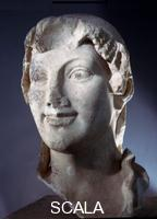 Greek art Head of a Kore