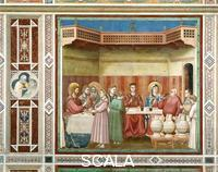 Giotto (Giotto di Bondone 1266-1336) Marriage at Cana
