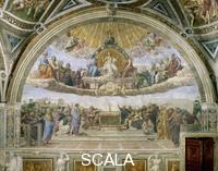 Raphael (1483-1520) Disputa (Disputation over the Blessed Sacrament)