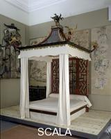 Linnell, John (1729-1796) and Linnell, William (c. 1703-1763) The Badminton Bed. 1754