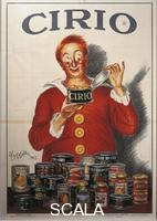 ******** Posters, Italy, 20th century. Advertisment for Cirio food preserve, illustration by Leonetto Cappiello (1875-1942), 1923.