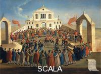 Bella, Gabriel (18th cent.) Football Game in Sant Alvise, the