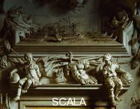 Serpotta, Giacomo (1656-1732) Oratory of the Rosary of S. Cita. Sat young people. 1686-1718