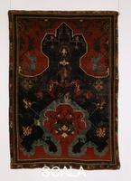 ******** Prayer carpet with cloud pattern. Ushak (Turkey), c. 1600.