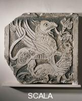 ******** Bas-relief with griffin and a lion