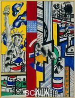 Leger, Fernand (1881-1955) Study for Cinematic Mural. Study II (1938-39)