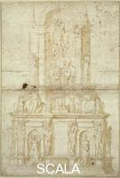 Rocchetti, Giacomo (16th cent.) Pope Julius II's Tomb, 1530-1550 (after Michelangelo).