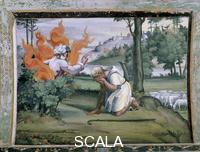 Raphael (1483-1520), school Scenes from the Story of Moses: the Burning Bush