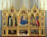 Angelico, Fra (1387-1455) Polyptych of the Dominicans