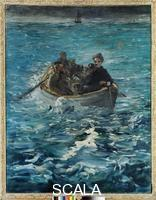 Manet, Edouard (1832-1883) The Escape of Henri Rochefort